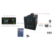 60W solar system with lcd display